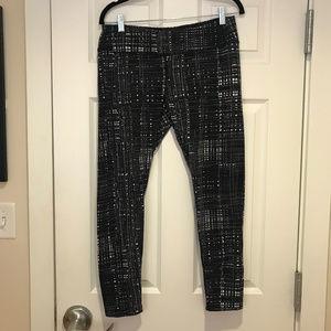 TUFF ATHLETICS Patterned Leggings, Women's Size L